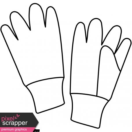 Garden Gloves Illustration graphic by Marisa Lerin