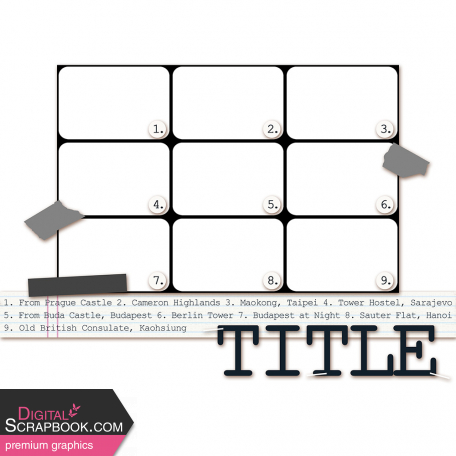 Layout Template 274