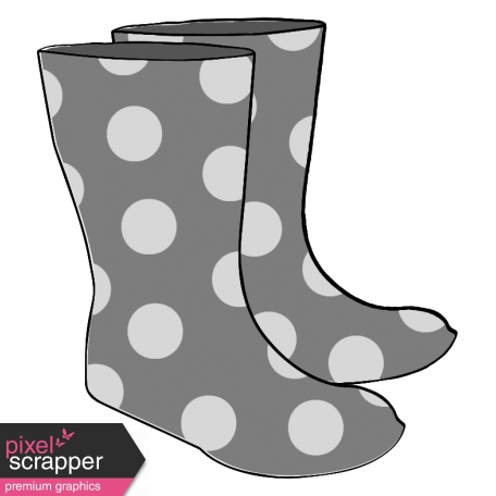 Rain Boots Illustration Template Graphic By Melo Vrijhof Pixel