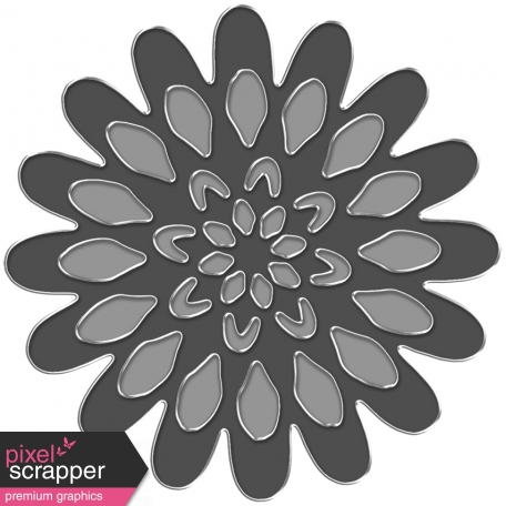 Metal Flower Template