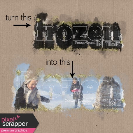 Frozen - Layered Photo Mask