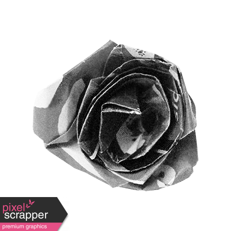 Paper Flower Template 002