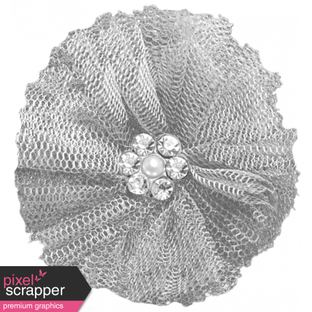 Fabric Flower Template 007