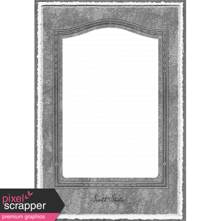 Paper Frame Template 002