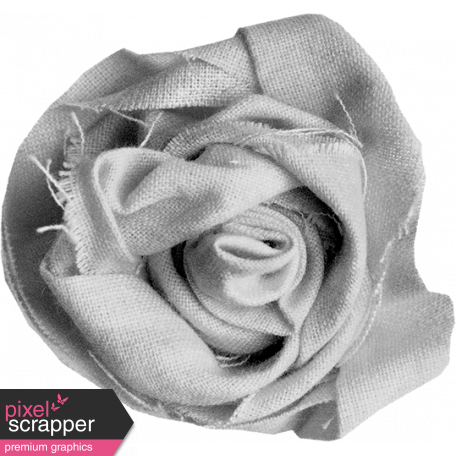 Fabric Flower Template 025