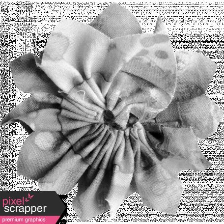 Fabric Flower Template 029