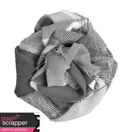 Fabric Flower Template 030