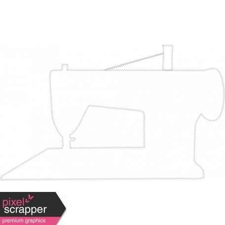 Sewing Machine Stitching Template