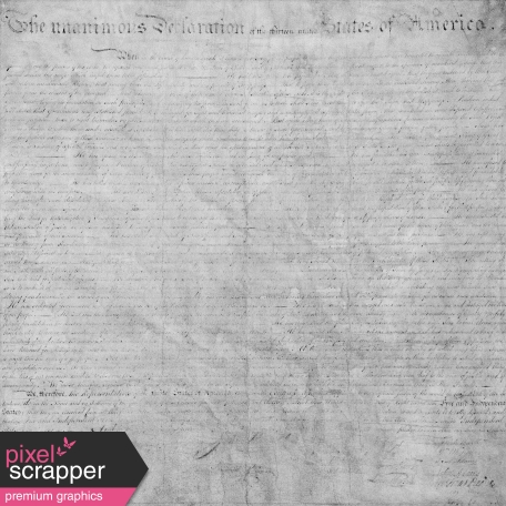 Declaration of Independence Texture Template