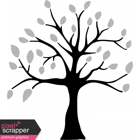 tree template and illustration psd