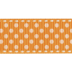 No Tricks, Just Treats- Orange Polka-Dot Ribbon