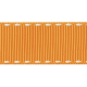 No Tricks, Just Treats- Orange Solid Ribbon