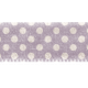 No Tricks, Just Treats- Purple Polka-Dot Ribbon