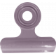 No Tricks, Just Treats- Purple Solid Clip