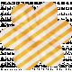 No Tricks, Just Treats- Orange and White Striped Flower
