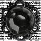 No Tricks, Just Treats - Black Vintage Jewel