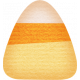 No Tricks, Just Treats- Candy Corn Sticker