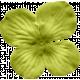 No Tricks, Just Treats-Solid Green Flower