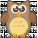 No Tricks, Just Treats-Owl Sticker