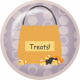 No Tricks, Just Treats-Treat Bag Flair
