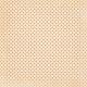 No Tricks, Just Treats-Orange And White Polka Dot Paper