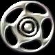 Speed Zone Elements Kit- Chrome Rim #02