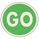 "Speed Zone Elements Kit- ""Go"" Sign"