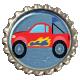 Speed Zone- Race Truck Bottlecap