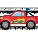 Speed Zone- Race Truck Sticker