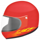 Speed Zone- Racing Helmet
