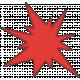 Speed Zone- Red Bomb Sticker