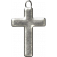 My Baptism- Silver Cross Charm