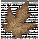 Turkey Time Elements Kit- Brown Wide Leaf
