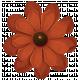 Turkey Time Elements Kit- Burnt Orange Flower