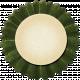Thankful- Dark Green Accordian Tag