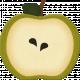 Thankful- Green Apple Slice