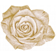 Vintage- November Blogtrain White Rose