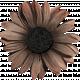 Sweet Valentine Elements  - Brown Flower
