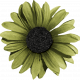 Sweet Valentine Elements- Green Flower