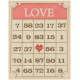 Sweet Valentine- Love Bingo Card