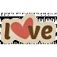 Sweet Valentine- Love Sticker