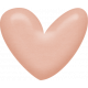 Sweet Valentine- Pink Heart Brad