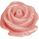 Sweet Valentine- Pink Rose Button