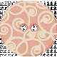 Sweet Valentine- Pink Swirly Button