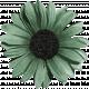 Sweet Valentine Elements- Teal Flower