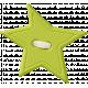 Lil Monster- Green Star Button