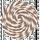 Lil Monster- Brown Pinwheel String