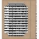 Lil Monster- Brown Stubbed Paper Frame