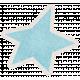 Lil Monster Blue Star Sticker