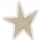 Lil Monster Brown Star Sticker